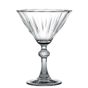 ESPIEL (CAM1025) DIAMOND MARTINI GLASS 238CC 23.8 EK P288