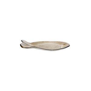 ESPIEL AQUA FISH PLATE ΑΝΘΡΑΚΙ 16x7